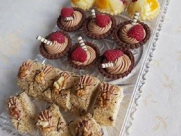 Minizákusky, koláčky, cukroví